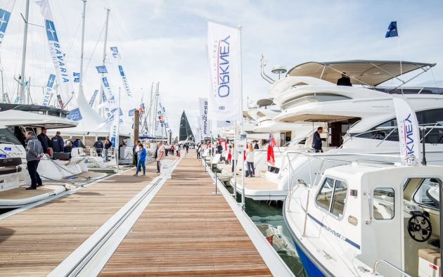 Scenes from previous Southampton Boat Show