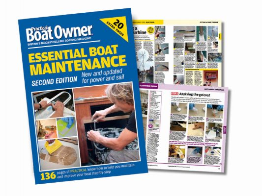 Essential Boat Maintenance 2nd edition now available in paperback and Kindle version from Amazon