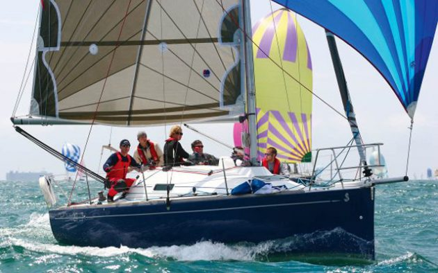 Beneteau First 27.7 is a delight to sail