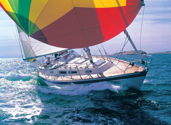 A yacht to take you almost anywhere: the Hallberg-Rassy 34