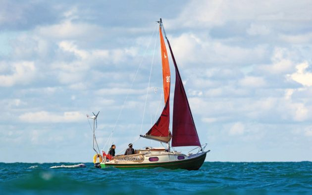More than 800 Westerlys were built using the hull that made its debut as the Westerly 22. photo by David harding