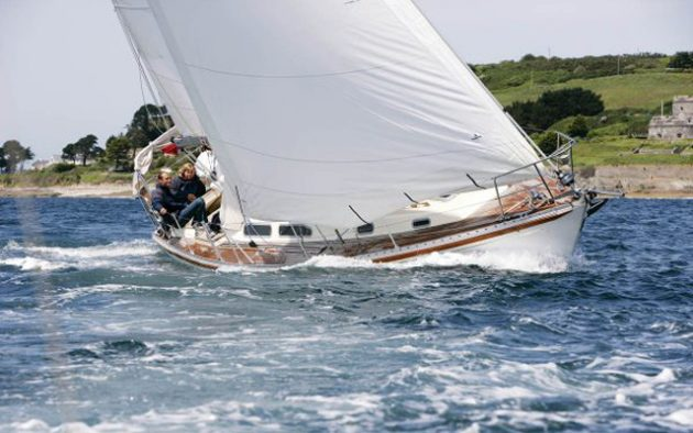Rustler 36 – one of the last long-keel yachts to go into production