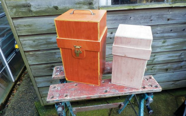 How to make wood-epoxy plywood boxes simply, cheaply at home