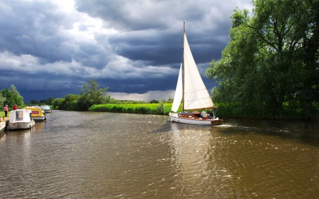 The Broads Authority is welcoming back boaters today, thanks to those who continued to pay tolls during lockdown. Photo: Alamy