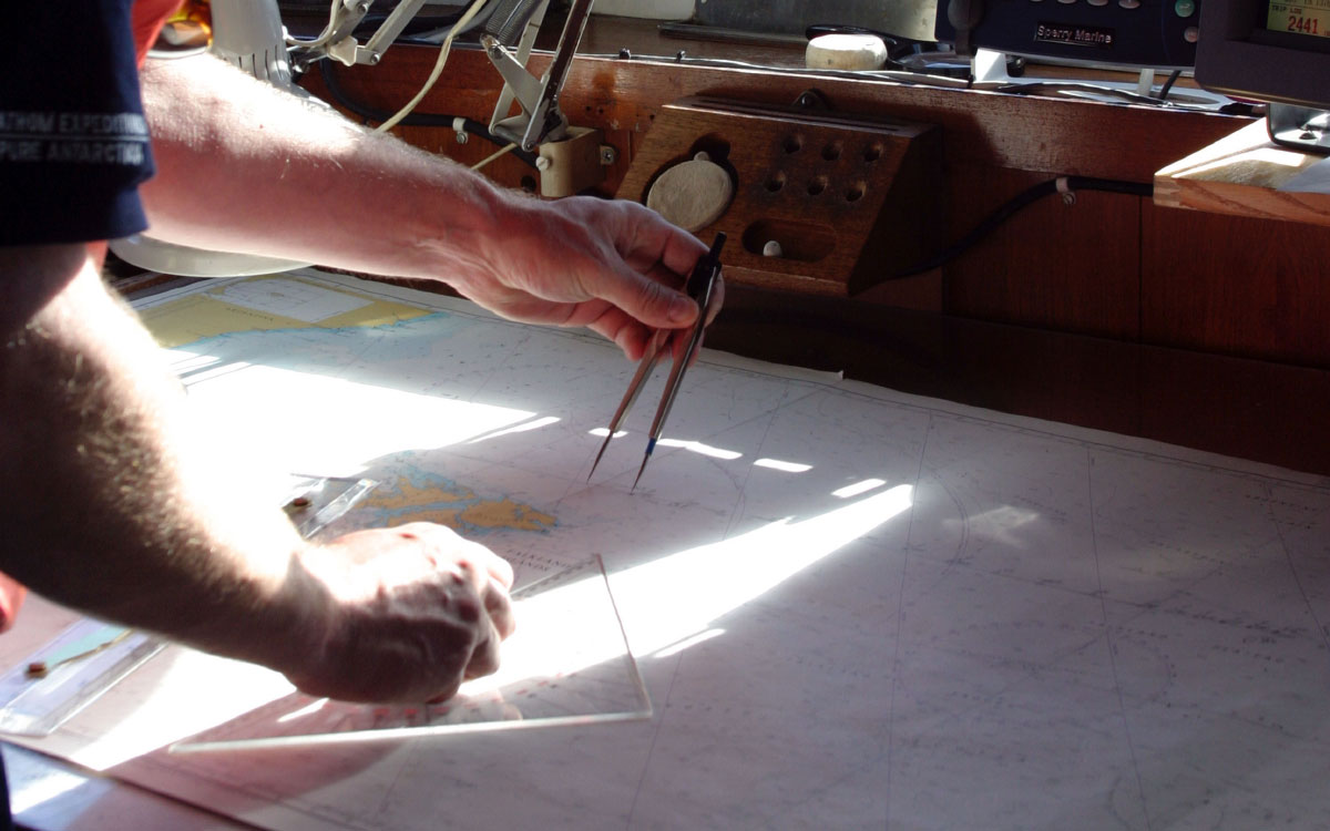What use is a chart table? 4 new ideas that won't stand the test of time - Practical Boat Owner