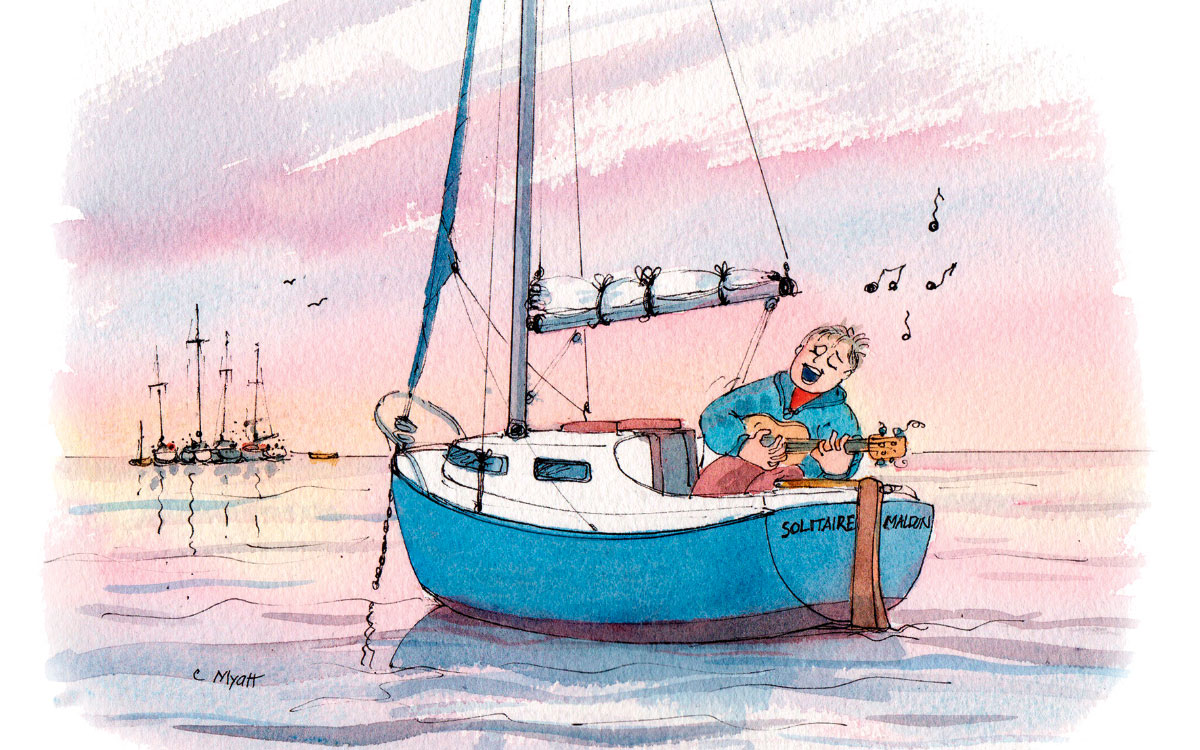 Self-isolation comes naturally for some of us… - Practical Boat Owner