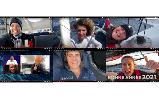 Pip Hare, Clarisse Cremer, Alexia Barrier, Miranda Merron, Isabelle Joshke - the six women skippers in the Vendee Globe 2020-21