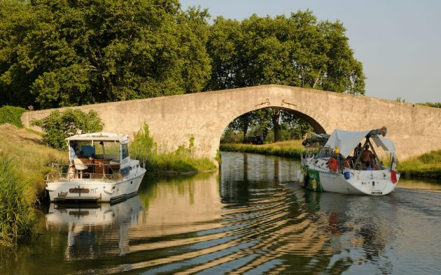 The Canal du Midi, South of France