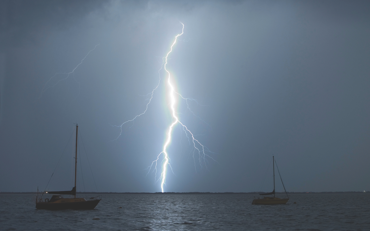 When lightning strikes – how to protect your boat from lightning at sea - Practical Boat Owner