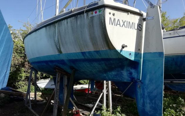 Maximus, a Maxi 84 is the new PBO Project Boat