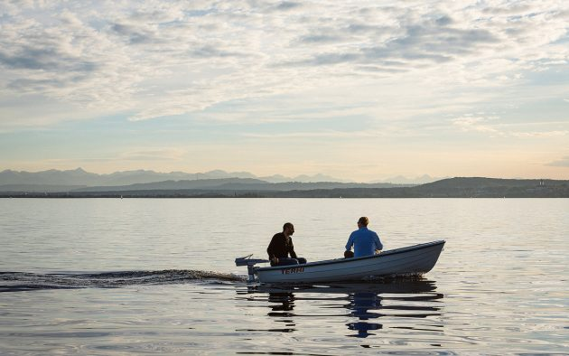 Electric outboards allow exploration of idyllic waterways in almost total silence