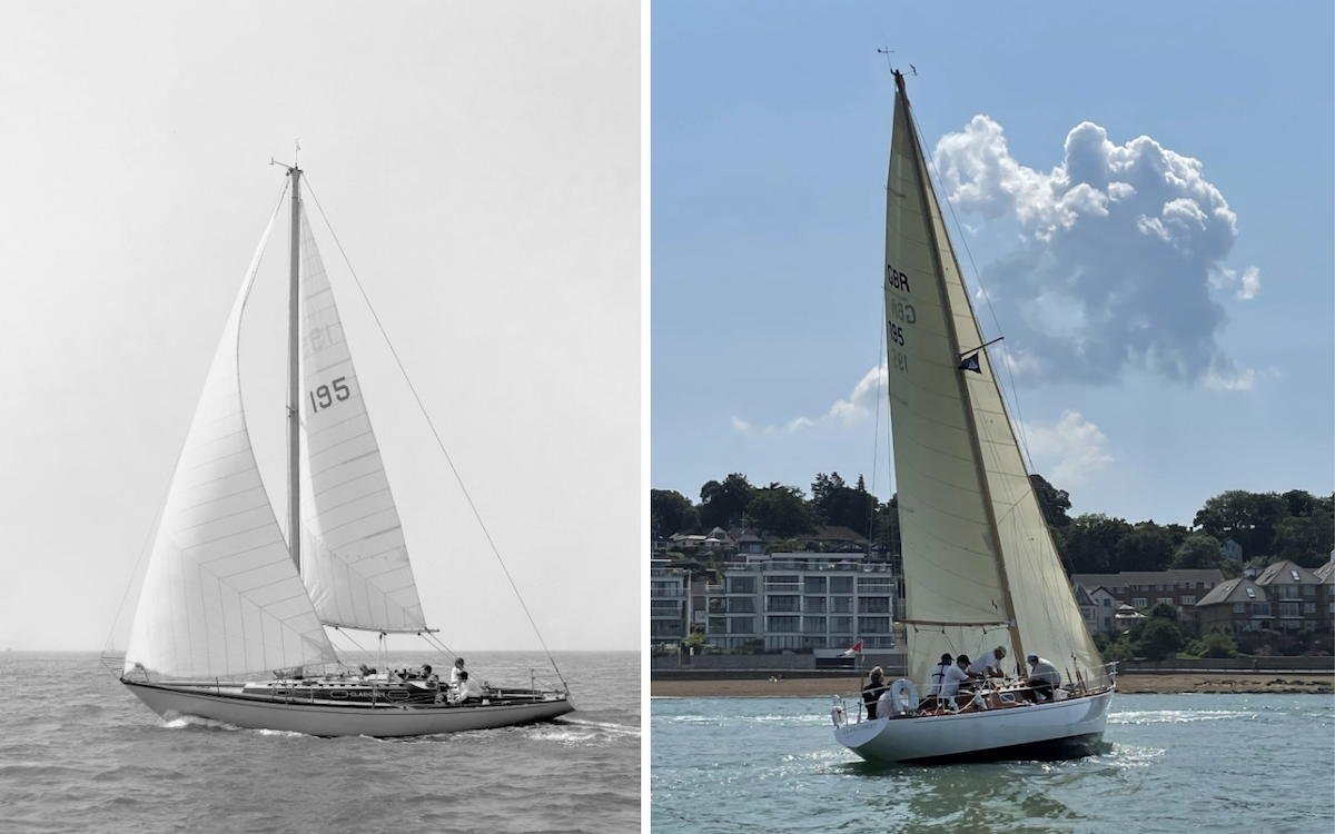 Classic racing yacht restored to former glory - Practical Boat Owner