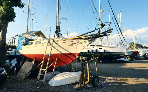 Boats need insurance cover even when they're laid up