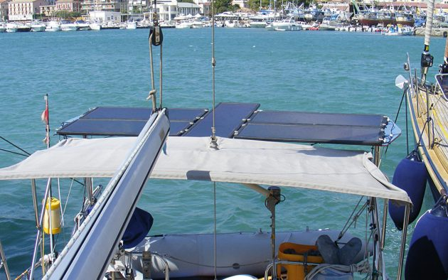 Retired engineer and boat electronics expert David Berry explains how insolation can affect your boat's solar panels