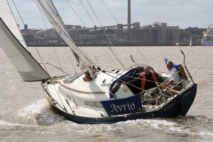 Halmatic 30 boat test
