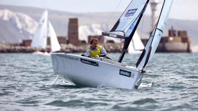 niki birrell at weymouth sail for gold regatta