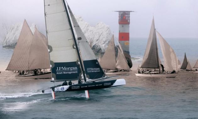 round the island race island sailing club