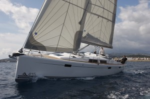 Hanse 415,Tested July 2012