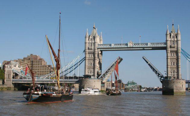 Lady Daphne Thames sailing barge