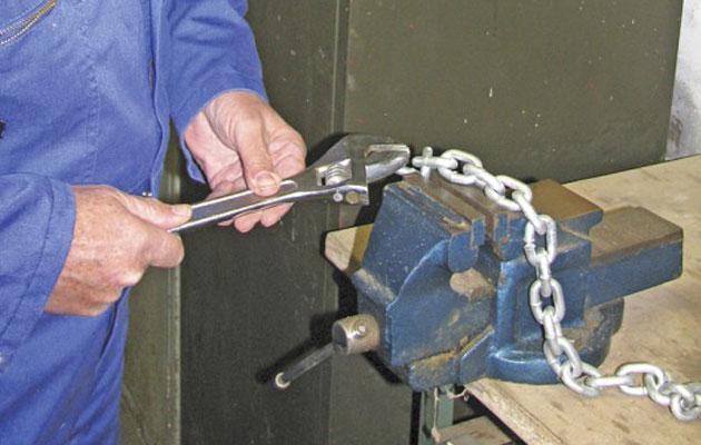 anchor chain test