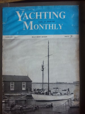 Yachting Monthly 1961 cover