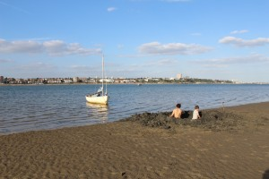 East Coast mudlarking off Leigh-on-Sea