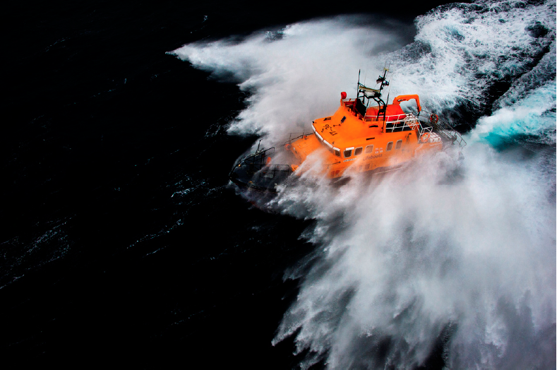 RNLI book Courage on our Coasts