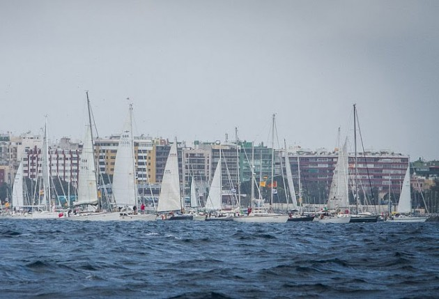 ARC 2012 start racing division