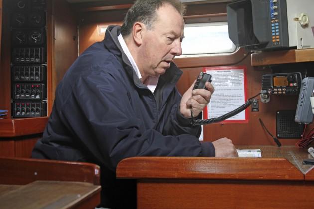 DSC VHF radio