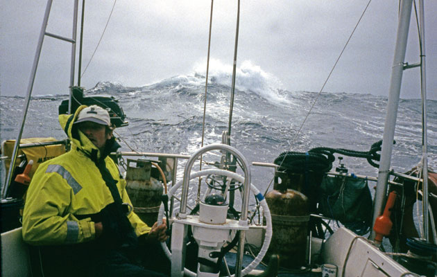 Sailing in storms