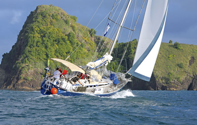 The best sail plans for crossing an ocean