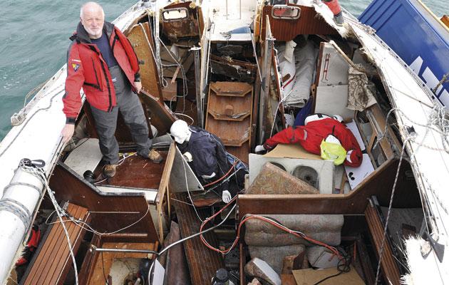 Crash Test Boat – Gas explosion