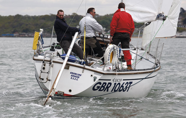How to cope with steering failure - power-boating