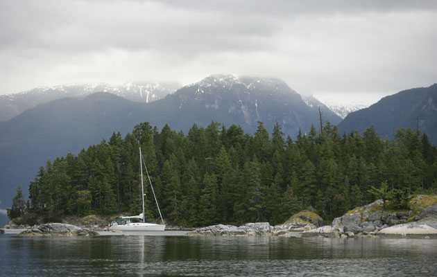 Sailing Charter In Desolation Sound