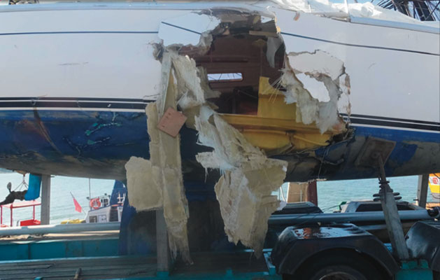Official report on Suffolk yacht 'Orca' fatal accident