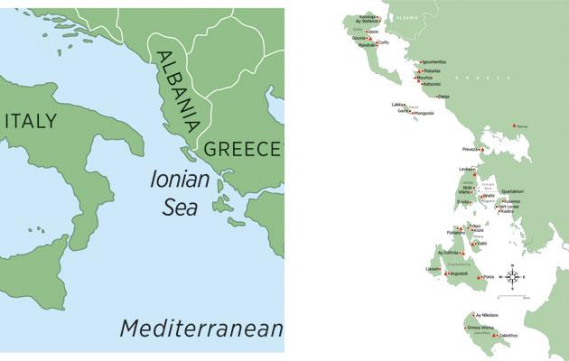 Cruising the greek ionian sea a cruising guide on the world.