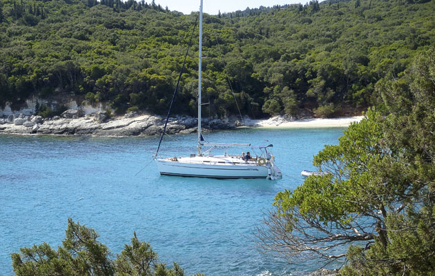 A cruising guide to the greek ionian.