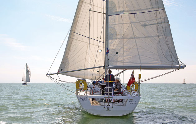 Which is the best way to sail downwind?
