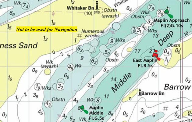New Thames Estuary Buoyage Yachting Monthly
