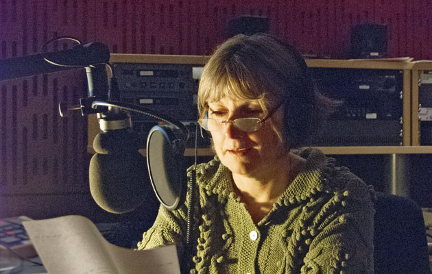 Carolyn Brown reads the Shipping Forecast on BBC Radio 4