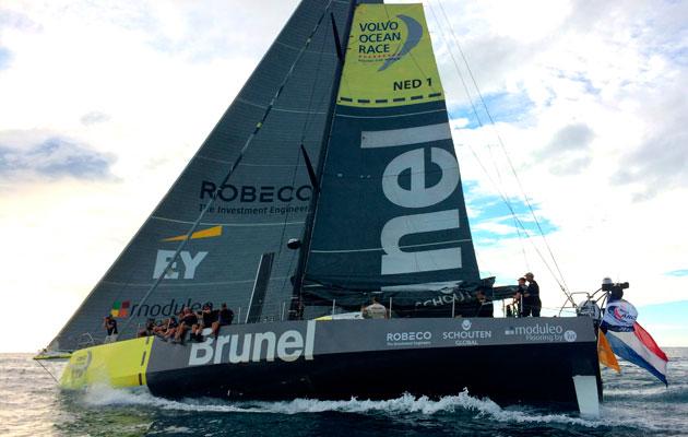 Team Brunel sail into Saint Lucia