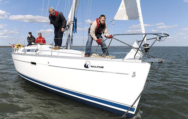 Anchor under sail