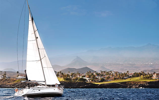 Sailing in the Canary Islands