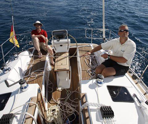 Sailing off Palma Mallorca. Credit: Graham Snook/Yachting Monthly