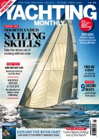 front cover of the new look Yachting Monthly Jan 2018