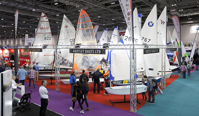 Boats at the 2017 London Boat Show