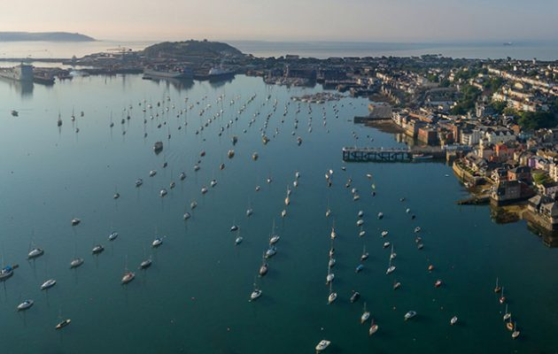 Falmouth. Credit: 3 Deep Aerial/PPL