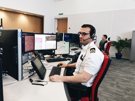 With the centralisation of the UK Coastguard, the database is ensuring that local knowledge is retained. Credit: MCA