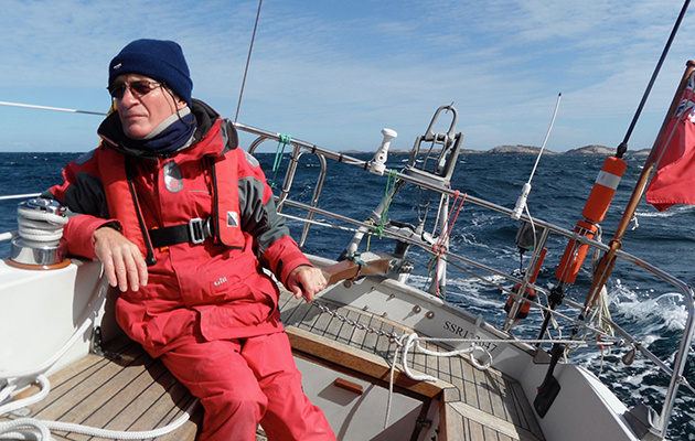 Dr Roger Chisholm found freedom through sailing