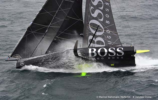 Alex Thomson came second in the 2016-17 Vendée Globe